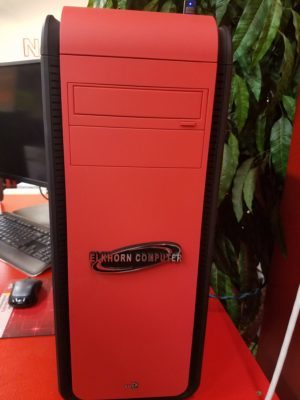 image of custom desktop computer